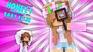 HONEY I SHRUNK BABY ELLIE! #1 | Minecraft LittleKelly (Custom Roleplay)