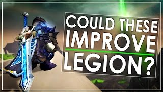 ...in my opinion. Legion is great, but there are a few lingering issues. Legendary weapon catchup. Artifact Power rewards not taking into account the length ...