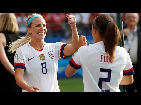 Μουντιάλ Γυναικών: Στους «8» ΗΠΑ και Σουηδία