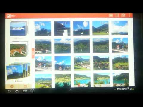 Video of Photo Desk (Photo Gallery)