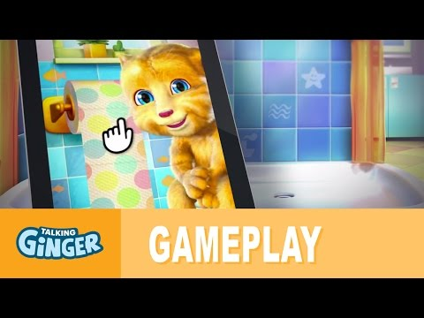 Talking Ginger App Hints and Tips