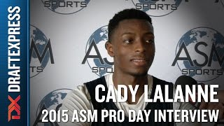 Cady Lalanne 2015 ASM Pro Day Interview