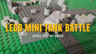 Lego Mini Tank Battle
