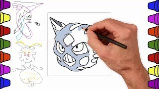Drawing My Favorite Pokemon Team by Thunder Blunder 777
