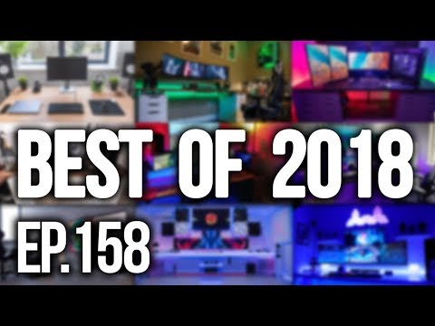 Room Tour Project 158 - TOP 10 Gaming Setups of 2018!