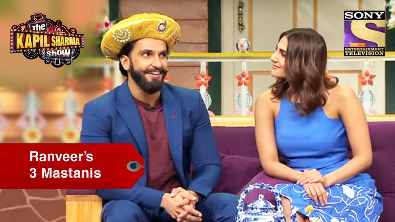 Ranveer And His Three Mastanis – The Kapil Sharma Show