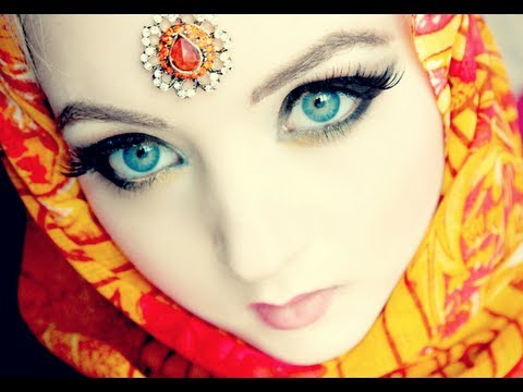 VenusAngelic - Hello my cutie angels! This tutorial shows you how you can get big, mysterious arabic style eyes with makeup! Enjoy xoxo --------------- TUTORIAL -----------...