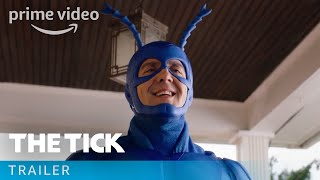 From creator Ben Edlund comes the hero you've been waiting for. In a world where heroes and villains have existed for decades, a mild-mannered accountant named Arthur has his life turned upside down when he runs into a mysterious blue superhero, The Tick, who insists that Arthur become the brains to his brawn in a crime-fighting duo. Will Arthur resist the call of Destiny or join the fight?» SUBSCRIBE: http://bit.ly/AmazonPrimeVideoUKSubscribe» Watch The Tick on Amazon Prime Video: http://bit.ly/WatchTheTickAmazonPrimeVideoAbout the Tick: In a world where superheroes have been real for decades, an accountant with mental health issues and zero powers comes to realize his city is owned by a global super villain long-thought dead. As he struggles to uncover this conspiracy, he falls in league with a strange blue superhero.Get More Amazon Prime Video: Watch More: http://bit.ly/WatchAmazonPrimeVideoNowFacebook: http://bit.ly/AmazonPrimeVideoFacebookTwitter: http://bit.ly/AmazonPrimeVideoTwitterInstagram: http://bit.ly/AmazonPrimeVideoInstagramTumblr: http://bit.ly/AmazonPrimeVideoTumblrAbout Amazon Prime Video:Want to watch it now? We've got it. This week's newest movies, last night's TV shows, classic favorites, and more are available to stream instantly, plus all your videos are stored in Your Video Library. Over 150,000 movies and TV episodes, including thousands for Amazon Prime members at no additional cost.The Tick – Season 1 Trailer  Amazon Prime Videohttps://youtu.be/fLbVOEnoR_wAmazon Prime Videohttps://www.youtube.com/c/amazonvideouk