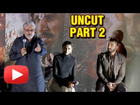 Bajirao Mastani Trailer Launch | Ranveer Singh, De