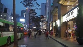 [Walking tour 漫步遊] Business district Myeongdong Seoul  南韓 首爾 明洞 商業區