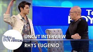 Video TWBA Uncut Interview: Rhys Eugenio MP3, 3GP, MP4, WEBM, AVI, FLV April 2019