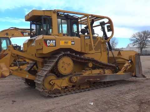 Caterpillar TRACTOARE CU ŞENILE D6TXLSU equipment video fLf4zHWUa2s