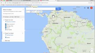 Learn how to use Google My Maps to create your own customized maps online. Google My Maps is great for student projects as well as for personal or business ...