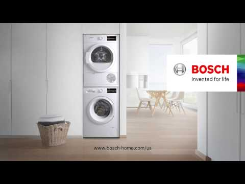 SIMPLIFY LAUNDRY DAY WITH BOSCH HOME APPLIANCES