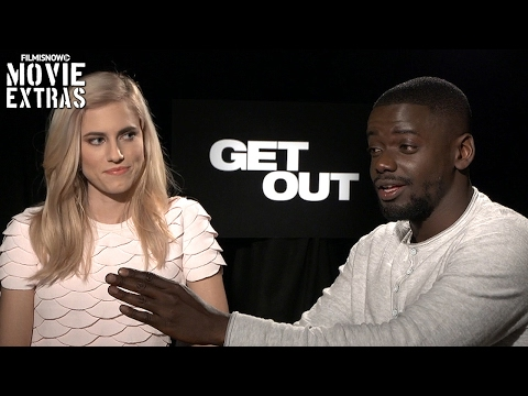 Get Out (2017) Allison Williams and Daniel Kaluuya talk about their experience making the movie