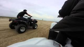 8. 2009 Rancher vs 2014 king quad 400 vs kawasaki 300