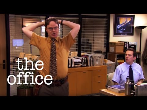 Dwight's Accidental Discharge  // The Office US (видео)