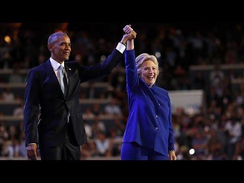 Ο Ομπάμα «έχρισε» επόμενη πρόεδρο των ΗΠΑ την Χίλαρι Κλίντον