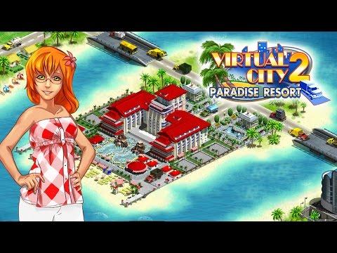 Video of Virtual City®: Paradise Resort