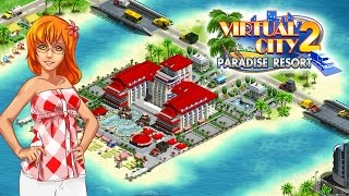 Virtual City®: Paradise Resort YouTube video