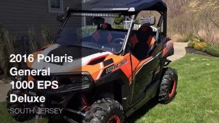 8. 2016 Polaris General 1000 EPS Deluxe Walk Around!