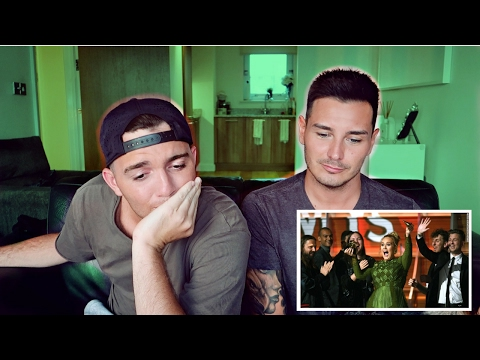 REACTING TO ADELE GRAMMYS MESS UP AND ACCEPTANCE SPEECH (2017)