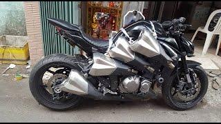 """Xe & Phong cách 24h - """"LOẠN NÃO"""" với quả Kawasaki Z1000 8 """"PÔ ĐÔI"""" duy nhất chỉ có ở Việt Nam., chỉ có ở việt nam, chỉ có ở nhật bản, hài hước"""