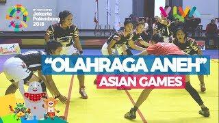 Video 3 Olahraga 'Aneh' di Asian Games 2018, Bingung Cara Mainnya MP3, 3GP, MP4, WEBM, AVI, FLV Agustus 2018