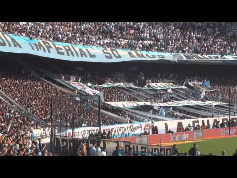 Video - Y cuando ven a la guardia imperial - Racing 1 - 0 Independiente - La Guardia Imperial - Racing Club - Argentina - América del Sur