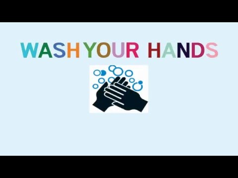 「Wash your hands♪~手を洗おう~」 熊本市立託麻中学校 保健委員会 風邪・インフルエンザ予防 テーマソング?