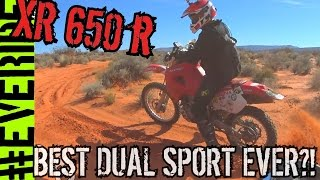 7. HONDA XR650R REVIEW - BRUTALLY HONEST on the BIG RED PIG o#o