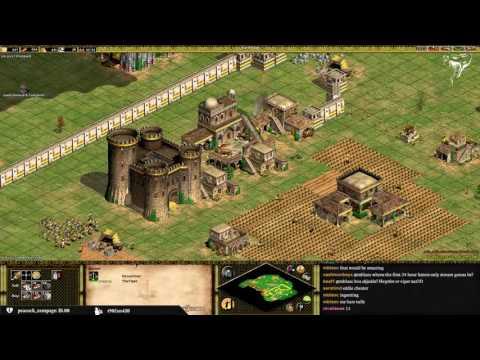 1v1 Arena   Byzantines vs Spanish   vs Edie   Fast Imperial YOLO (видео)