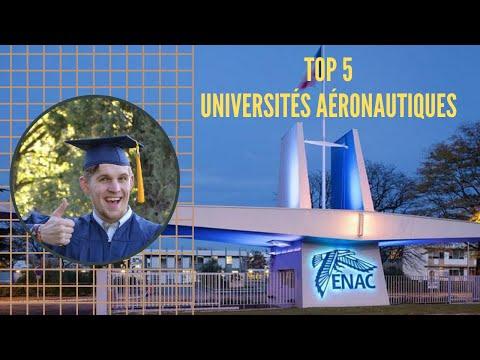 Top 5 des PLUS GRANDES UNIVERSITÉS AÉRONAUTIQUES MONDIALES