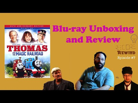 Thomas and the Magic Railroad Blu-ray: Unboxing and In-depth Review