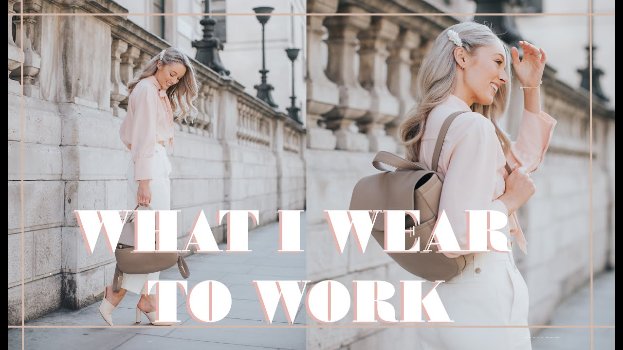 WHAT I WEAR TO WORK // Weekly Vlog // Fashion Mumblr