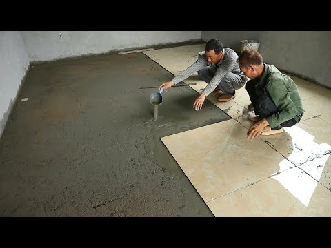 Techniques Install Ceramic Tiles Bedroom - 80x80cm Big Ceramic Tiles