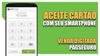 Com a venda digitada PagSeguro você consegue aceitar cartão de crédito diretamente no seu smartphone ou tablet. Basta utilizar o aplicativo PagSeguro ...