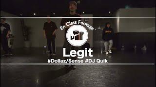 """Legit – """"Dollar/Sense / DJ Quik """" @ En Dance Studio SHIBUYA"""