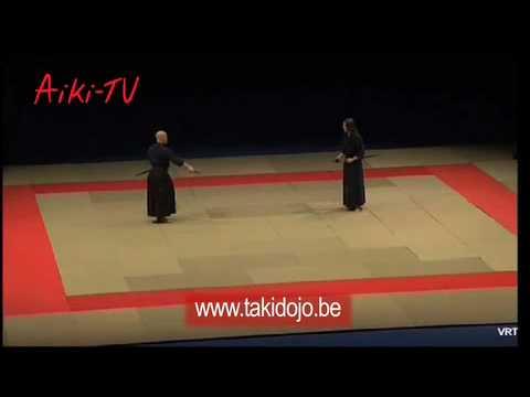 aiki-jujutsu yoseikan demonstration (armed and unarmed)