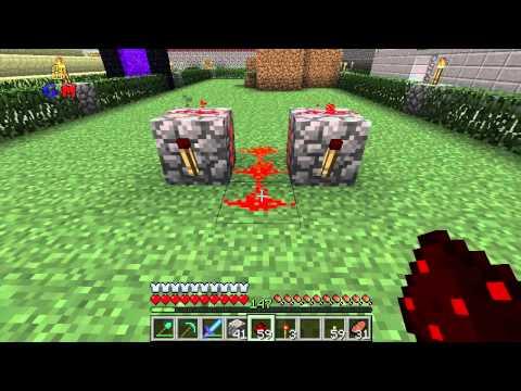 Tutorial Minecraft - Dispensador Muy Rapido (Ametralladora)