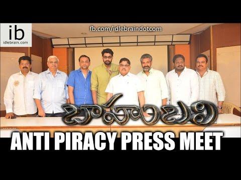 Baahubali Anti Piracy Press Meet