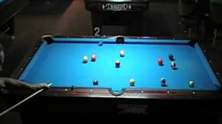 Mike Massey Vs. Roger Bordley In A Race To 5 8-Ball Match On A  7' Diamond Table