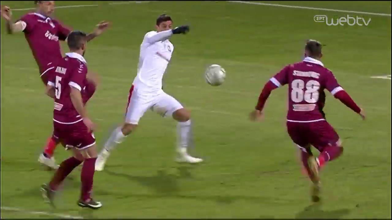Super League : ΞΑΝΘΗ – ΛΑΡΙΣΑ | ΓΚΟΛ 2-1 | 05/01/2020 | ΕΡΤ