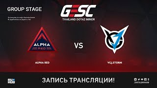 Alpha Red vs VGJ.Storm, GESC: Bangkok [Lum1Sit]