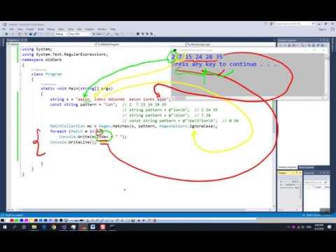"""Programming Course C# (part1) – 58.""""Կանոնավոր արտահայտություններ"""""""