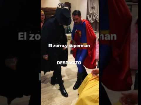 Zorro Castro e Superman Cacciatore… che carnevale!
