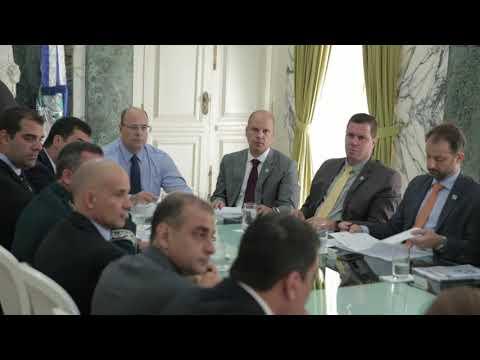 Governador se reúne com secretariado