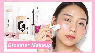 Download Video Full Face of Glossier Makeup - TINA TRIES IT MP3 3GP MP4