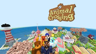 Animal Crossing: New Horizons l Minecraft Hide and Seek