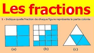 Maths 6ème - Fractions Exercice 2
